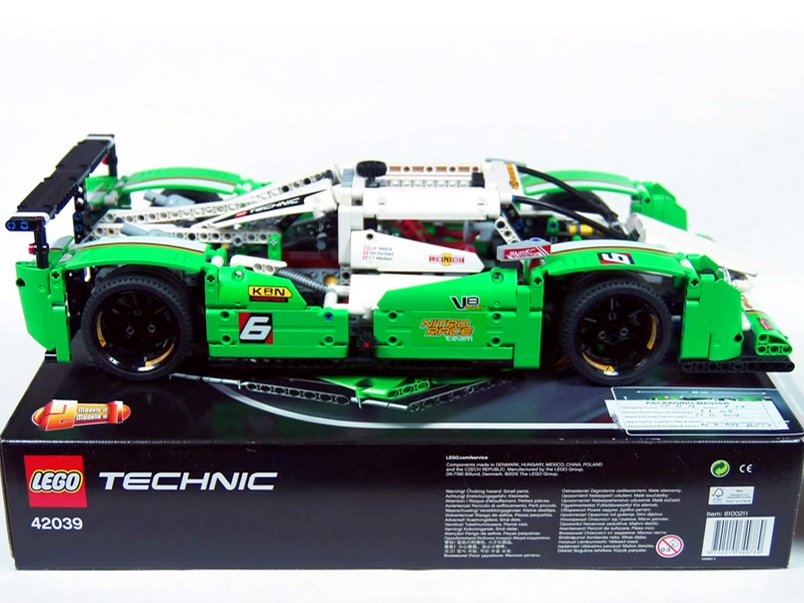 Video Get Technical With Lego Technics Endurance Racer