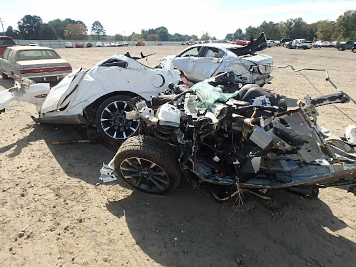 Blown Coyote Engine In Totaled Mustang Worth The Gamble