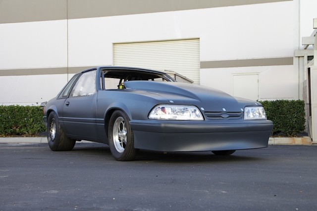 Presenting the latest addition to Dragzine's project vehicle lineup: a Fox body Mustang LX that we'll be pressing into Outlaw 8.5 competition.