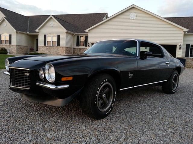 Is This Rare Black on Black 1973 Camaro Z28 Worth 6 Figures