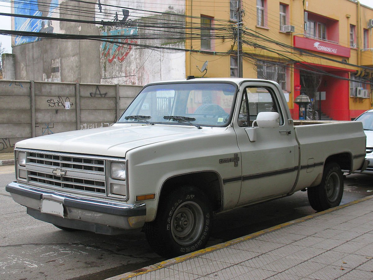 Top 5 Chevy Pickups Of All Time 1 1988 C K Pickup Chevy Hardcore