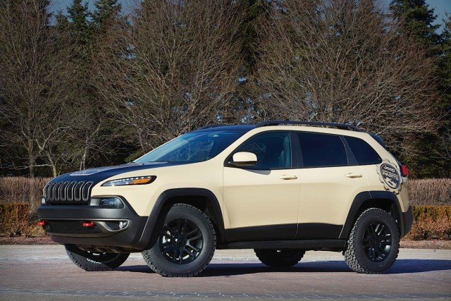 Jeep® Cherokee Canyon Trail Concept