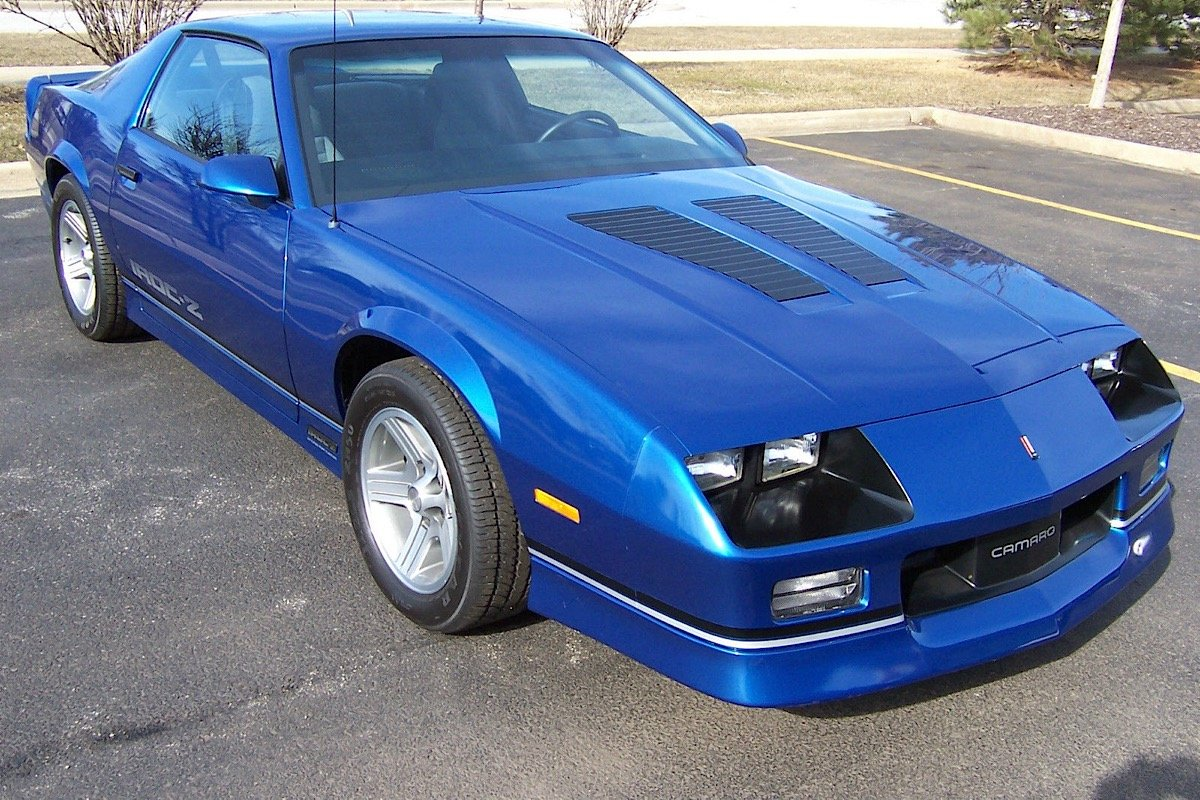 Ebay Find A Rare 1990 Chevy Camaro Iroc 1le With Only