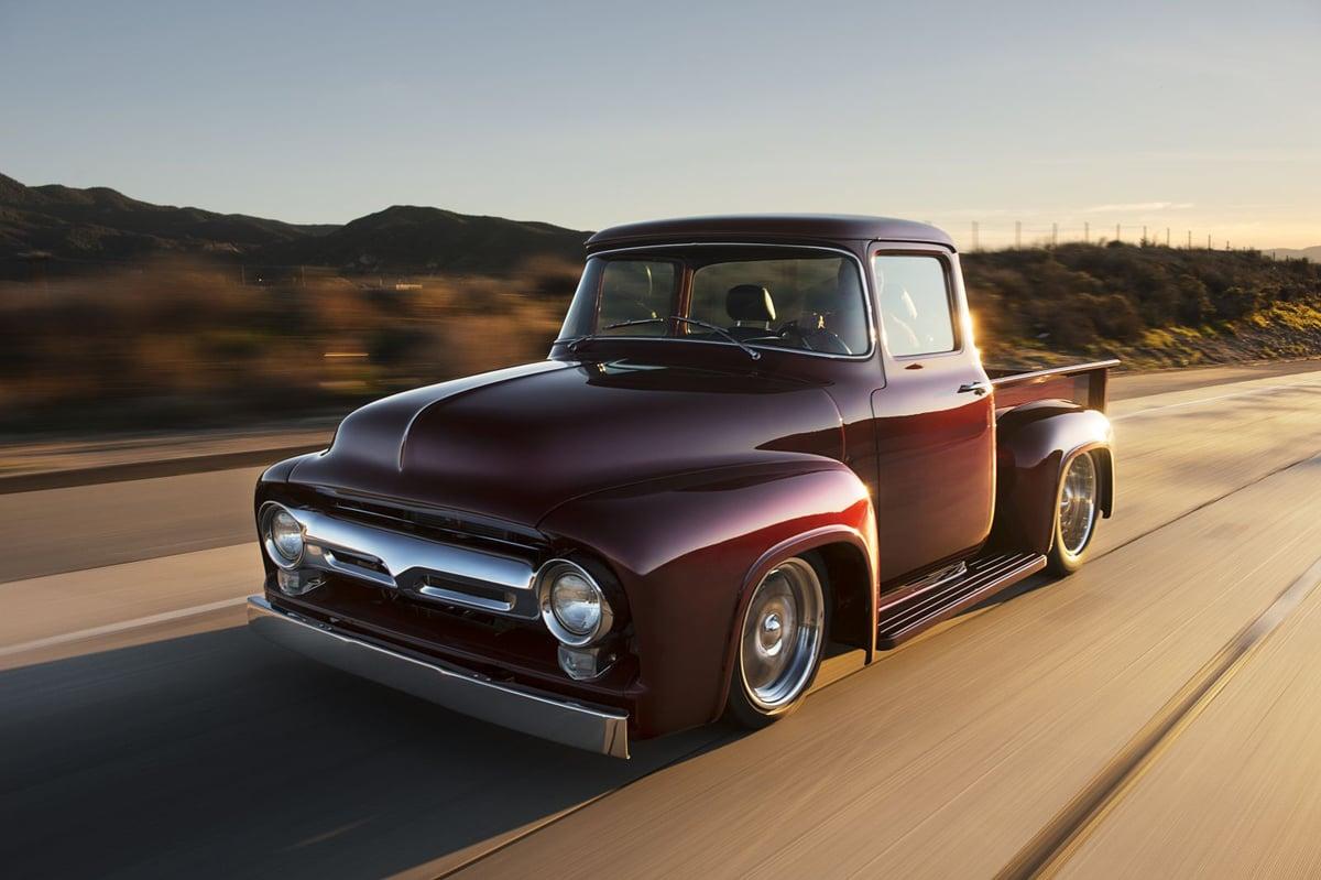 Old Truck New Tricks Bsi S 1956 X 100 Trucks Are Fresh