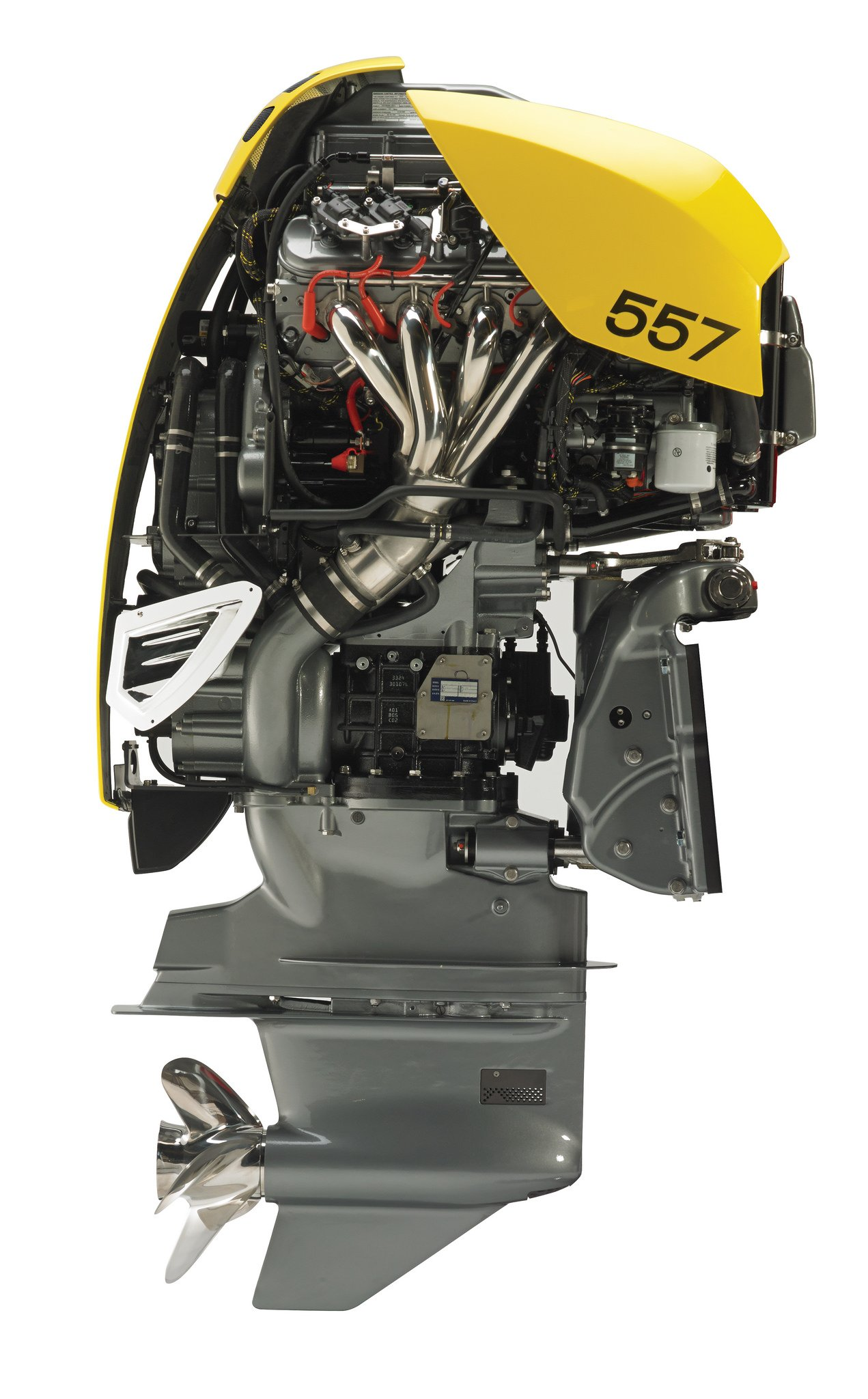 Video 4 lsa outboards equals one 2 228 horsepower fishing for Outboard motor parts online