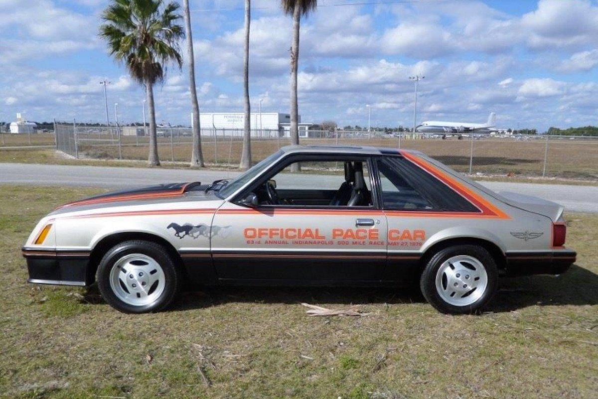 1979 ford mustang pace car value
