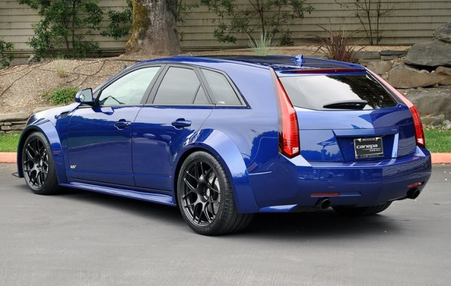 Car Feature Charlie Miller S Immaculate Opulent Blue Cts V Wagon