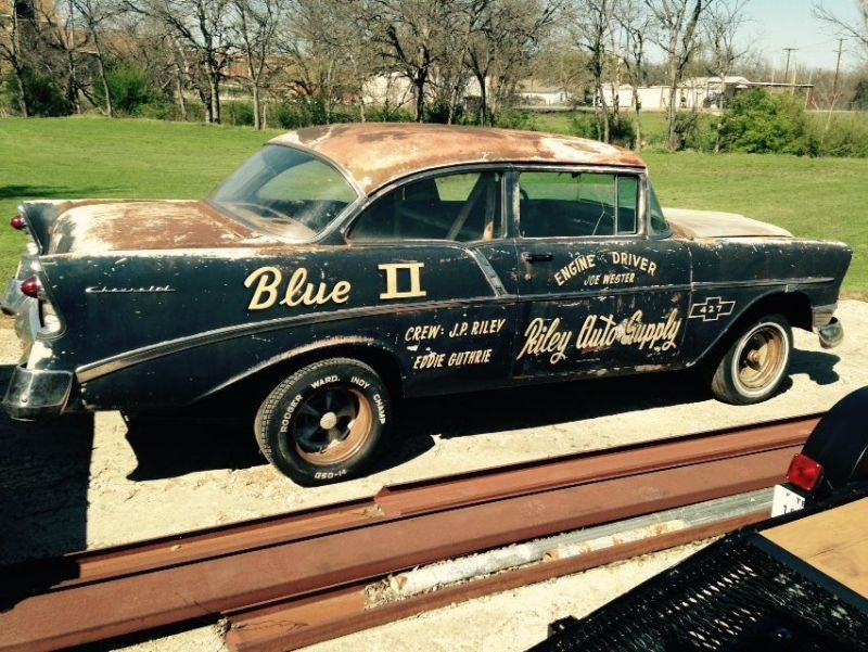 Blue Ii A Former Local Drag Racing Legend Chevy Street Muscle