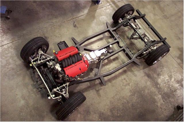 Don't Call It A Kit Car - Corvette Central's Concept '57 Repro Body