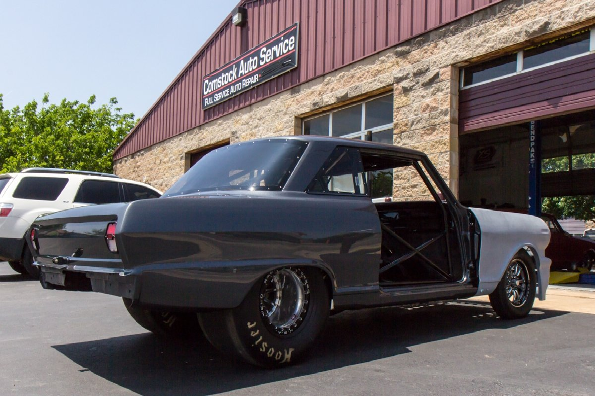 Daddy Dave's Chevy II Nearing Completion And Street Outlaws