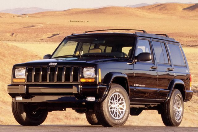 1997 Jeep Cherokee Country.