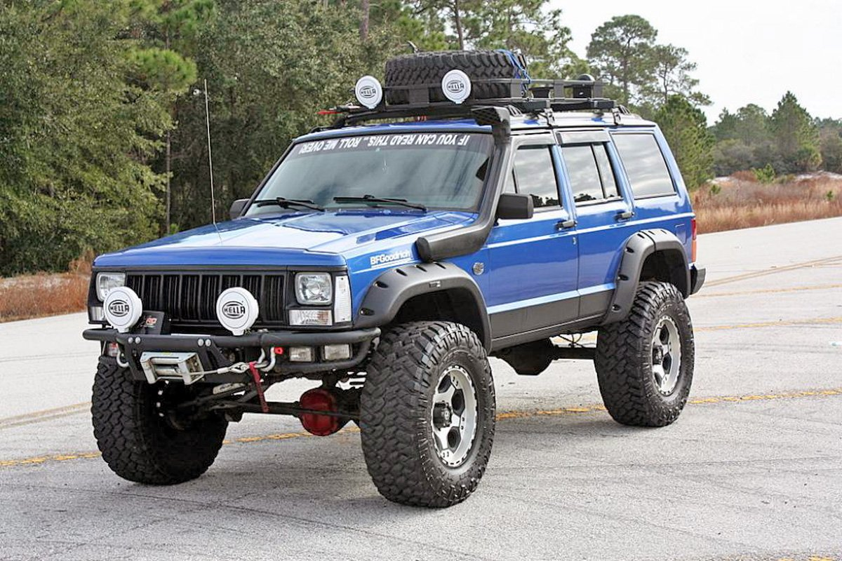 Jeep Cherokee With Aftermarket Add Ons