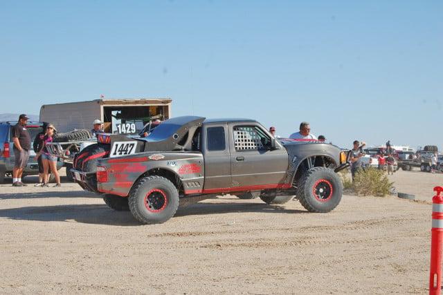 Race ready Ford Ranger.