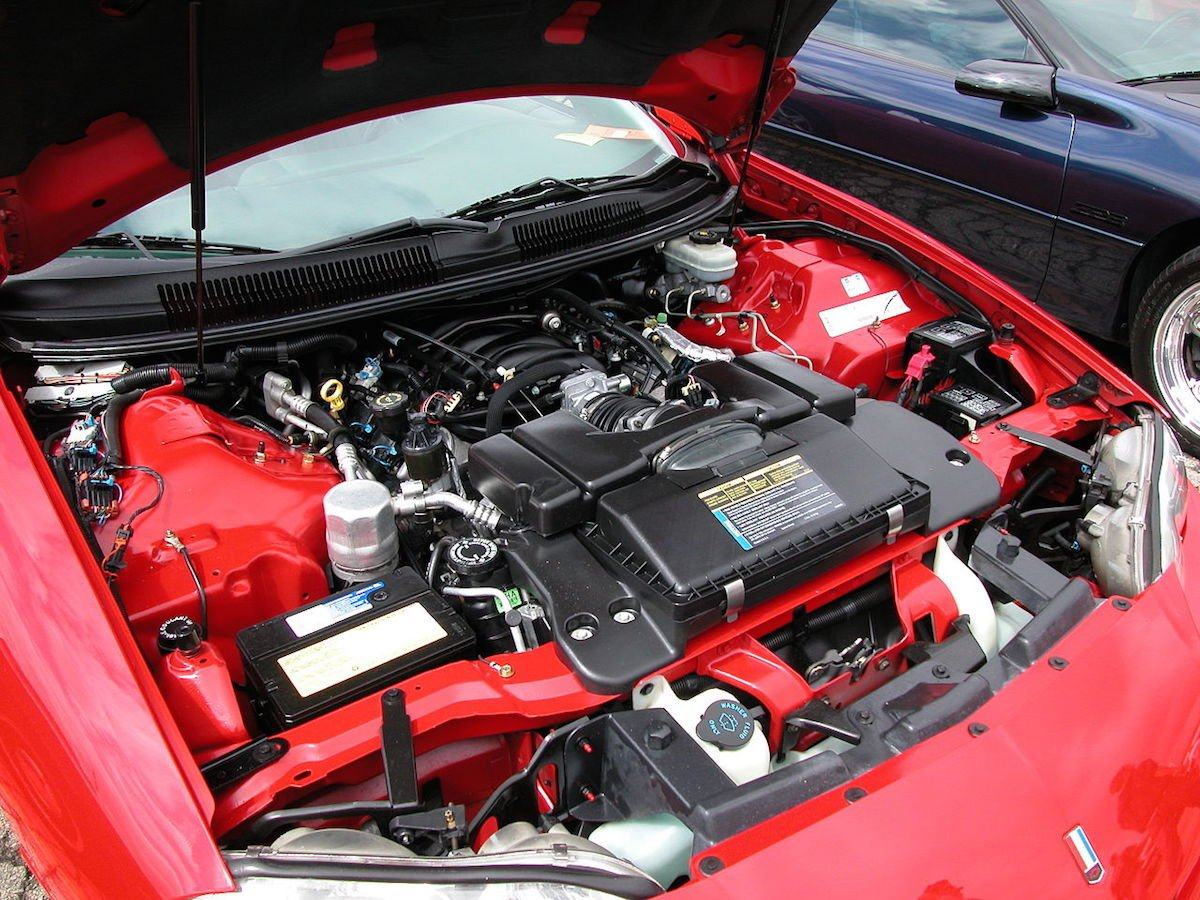 Fourth Generation Camaro Engines Lsx 6 0 Gm Engine Diagram Gms Ls1 Continued To Be The Base V8 In Photo From Wikipediaorg
