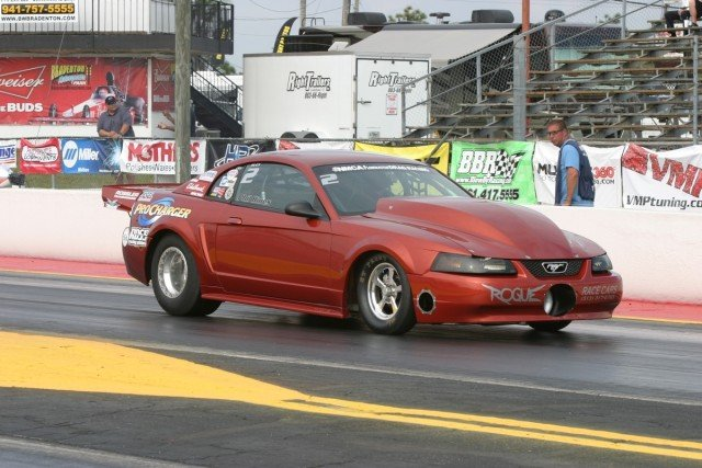 Phil Hines will look to continue setting records with his ProCharger-equipped Mustang.