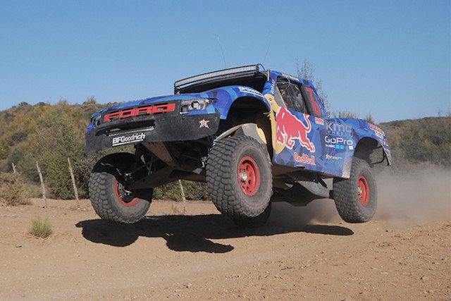 Bryce Menzies has won the Baja 500 in 2012 and 2014.