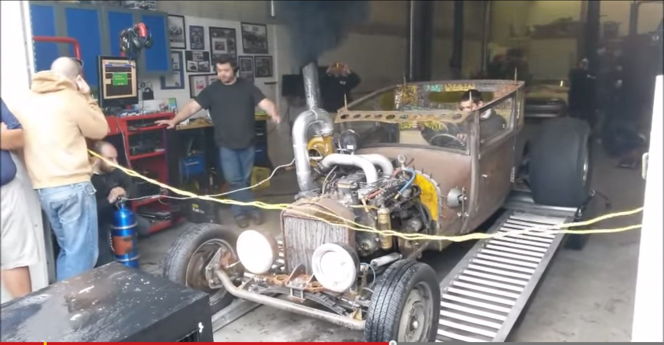 Dyno Pulls Gone Wrong Video Rat Rod Dyno Pull Gone