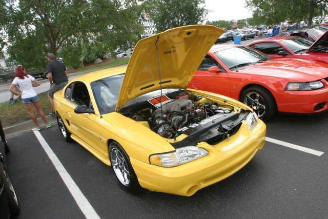 With what could've been the deal of Mustang Week, this 1994 GT was for sale. Looking every bit SN95 Cobra with a Vortech supercharged pushrod combination, we all know 1994-'95 Cobras weren't available in yellow, but we don't care about that; this car was cool. Yes, we would get a ticket in the car every other day, so it's up to you to sweep this car off its hooves. For $7,000, it looked like a great deal.