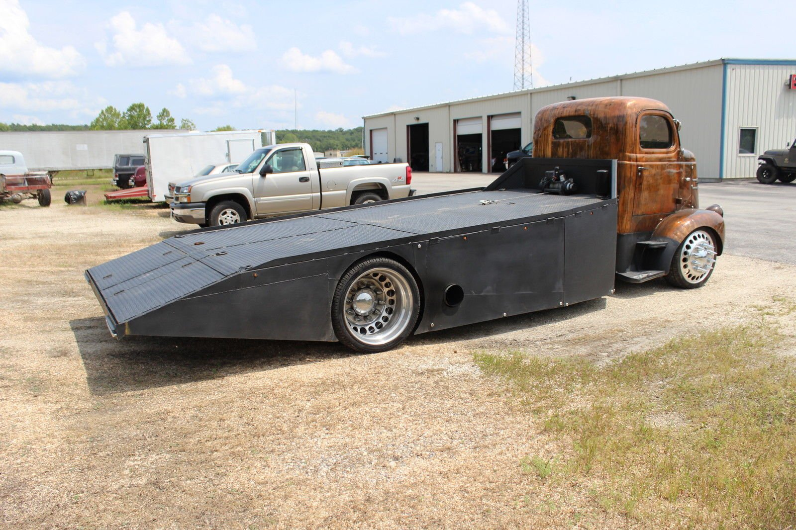 Ebay Find 1939 Rat Rod Ram Car Hauler Wiring Harness The Steel Ramp Of This Rig Is Bed Lined And Features An 8000 Pound Winch