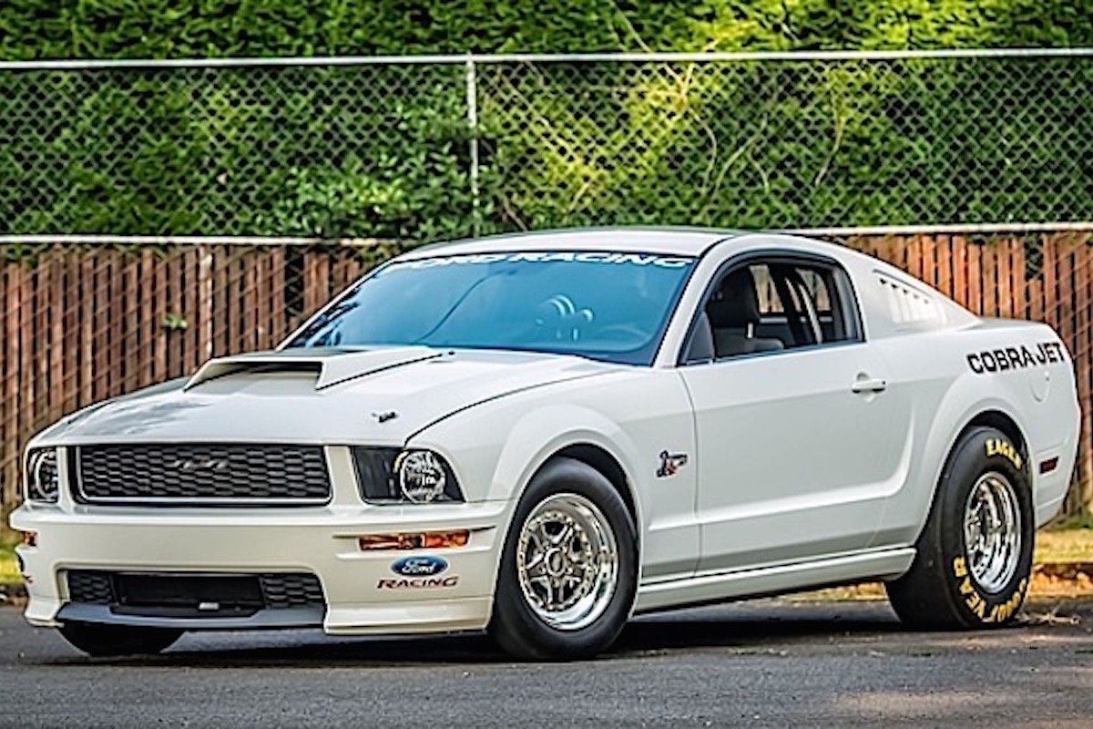 2008 Ford Mustang Cobra Jet Heading To Mecum Auctions