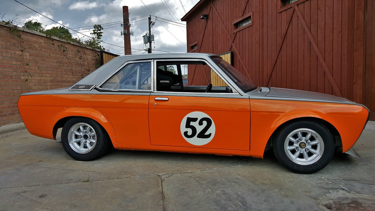Check Out This Immaculate Datsun Bluebird SSS Racecar For Sale