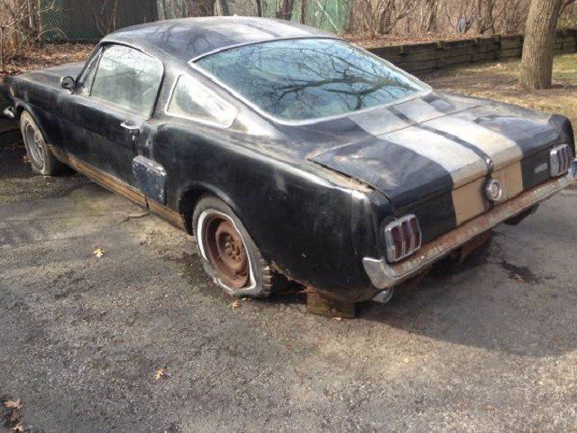 Wrecked 1966 Shelby GT350H Shows Up On Craigslist For $80,000