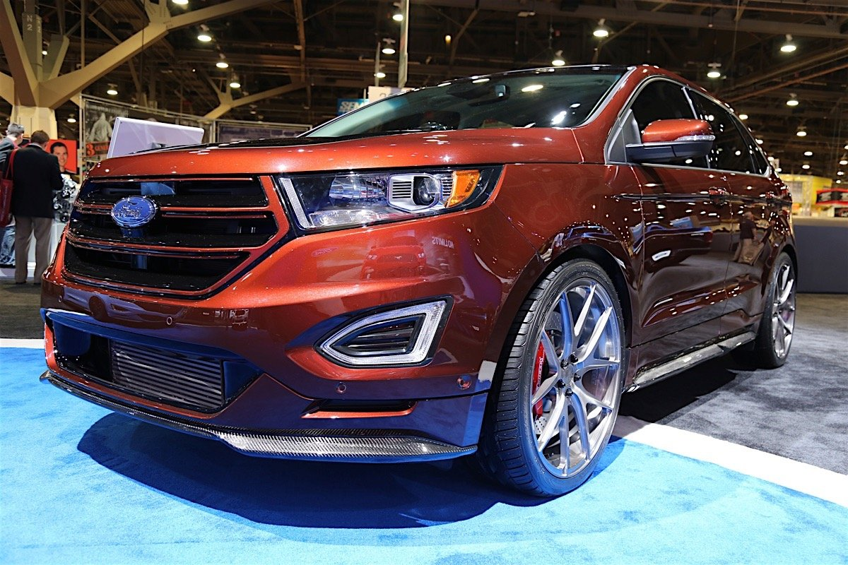 webasto heats things up with a custom ford edge sport. Black Bedroom Furniture Sets. Home Design Ideas