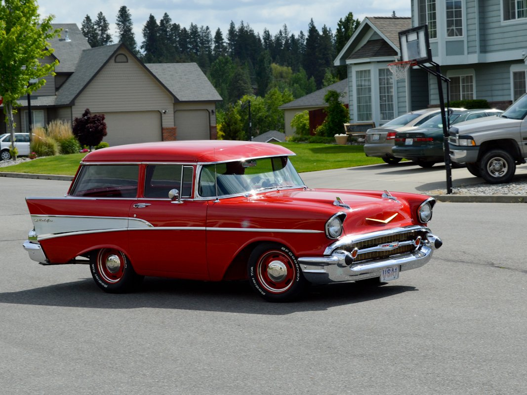 One of a kind 1957 chevy two door wagon for 1957 chevy two door wagon