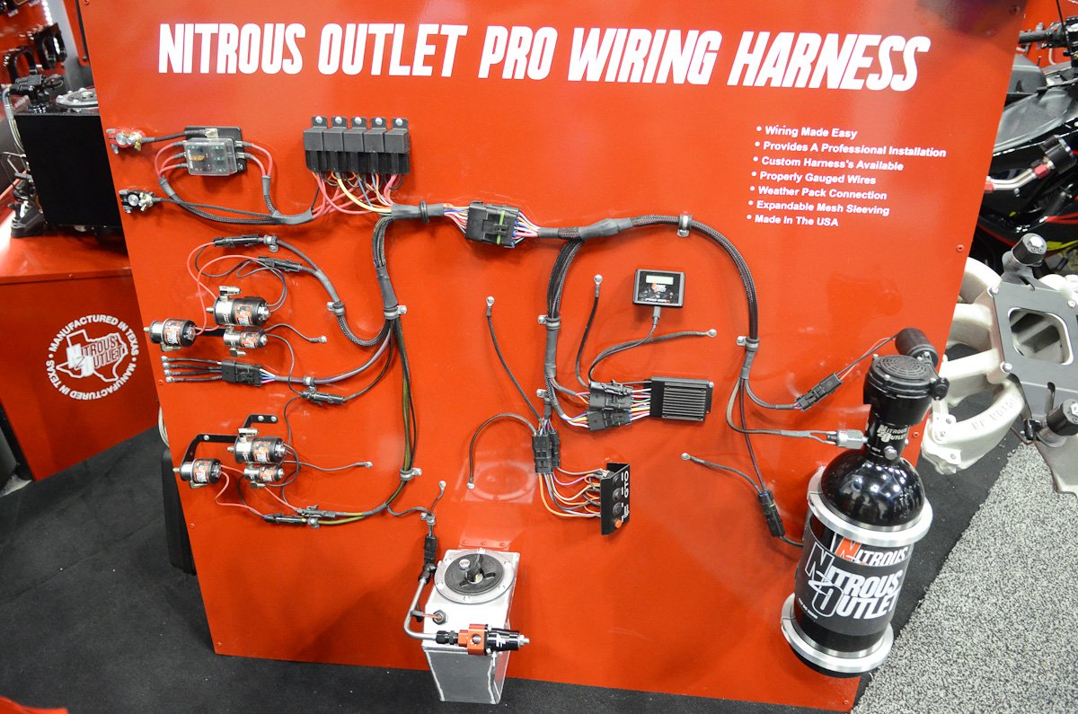 PRI 2015: Nitrous Outlet Simplifies Install With New Wiring HarnessLSX Magazine