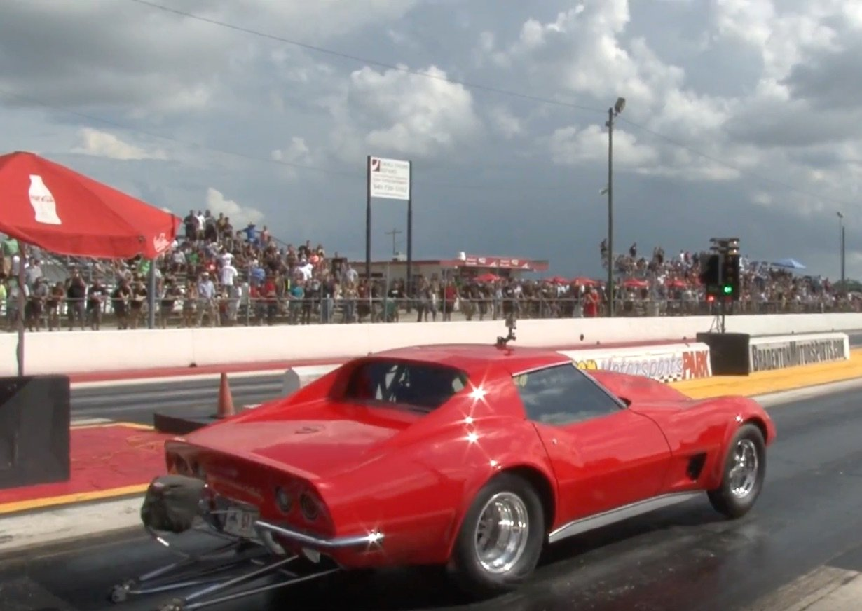 1973 Corvette with 2JZ Toyota Power Runs High 8\'s