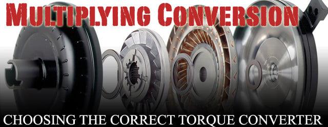torque converter lead
