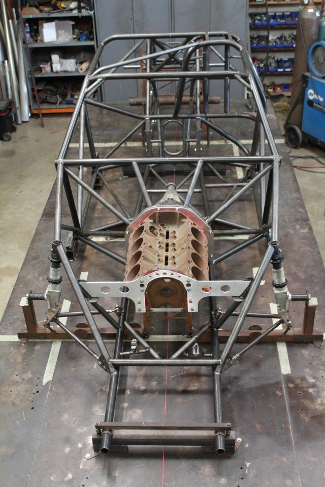 Chassis Front on Table