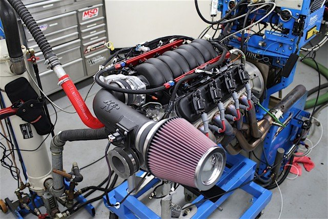 While this LS3 was built for a shootout with a Coyote 5.0 using an identical budget, the strategy was to build a streetable motor on a budget. So even though the components selected aren't geared toward maximum gains for a specific type of intake manifold, it does give us an indication of how a typical warmed-over LS3 would react to these different options.