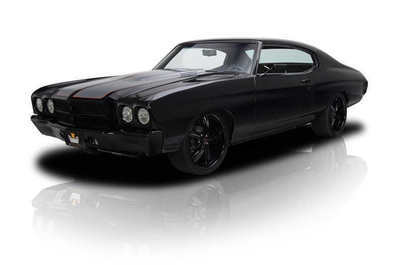 Video Nothing But Custom On This Blacked Out Chevelle Ss
