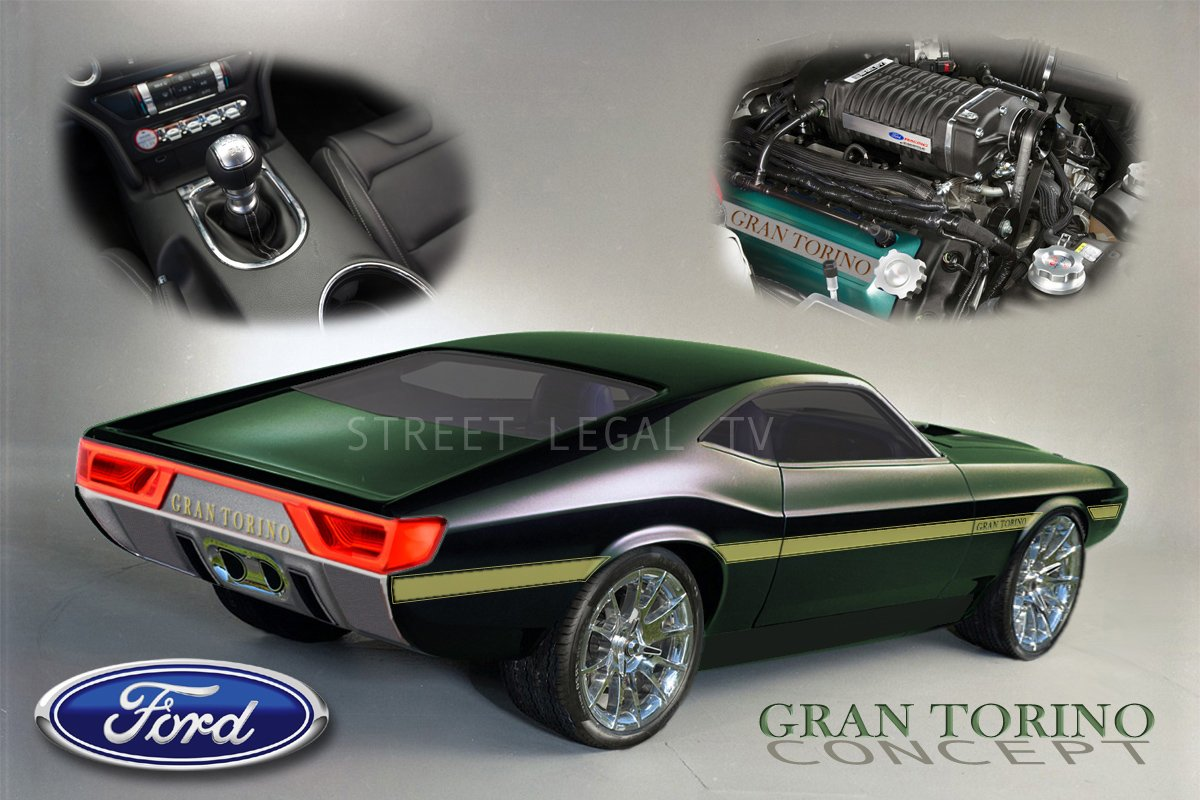 Street Legal TV BREAKING: Retro 2017 Gran Torino Concept