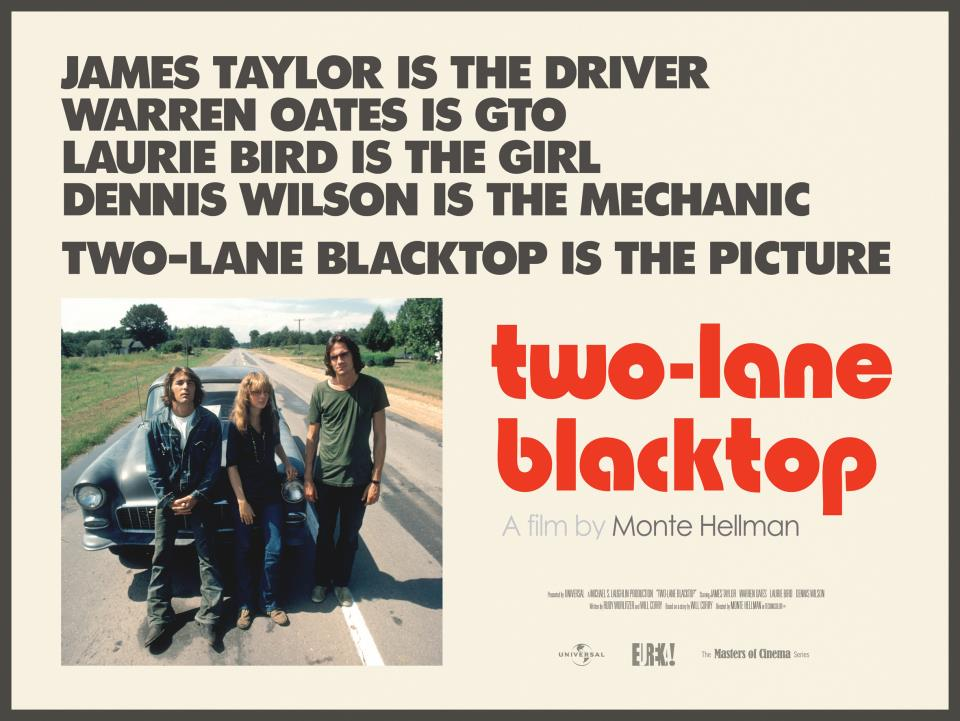 Rob S Car Movie Review Two Lane Blacktop 1971