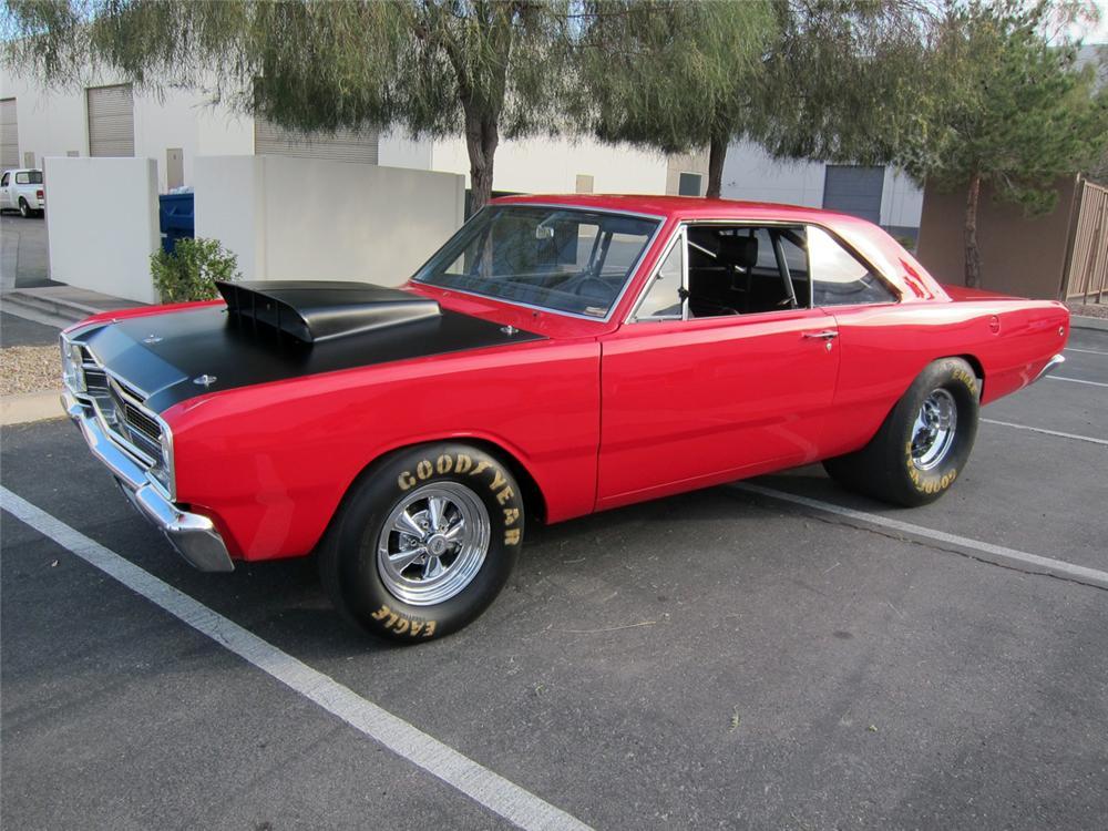 muscle cars you should know 1968 dodge hemi dart. Black Bedroom Furniture Sets. Home Design Ideas