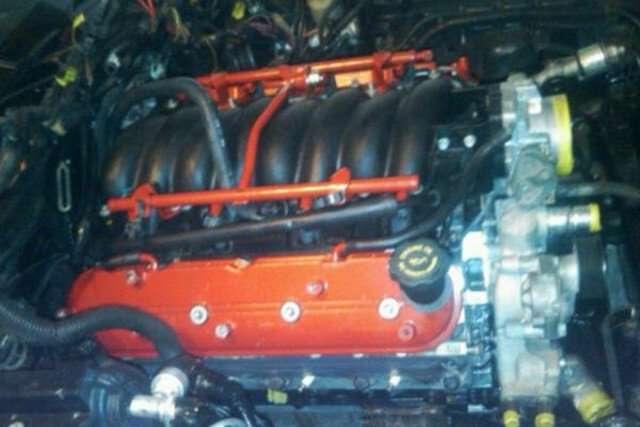 Here the LS1 is installed and awaiting the accessories and the final bits of the wiring to be finished up.