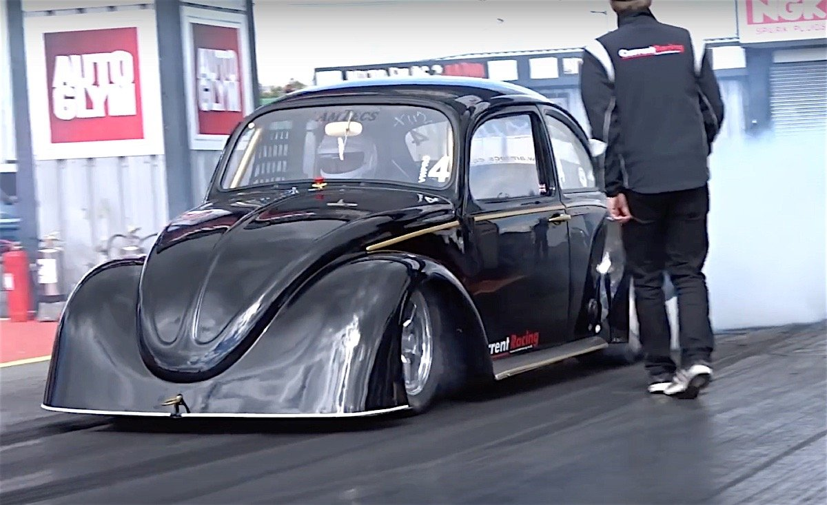 A Volkswagen Beetle May Not Be The Most Ideal Of Drag Racing Chis But There Is One Particular 1 4 Mile Record That Dominated By Car