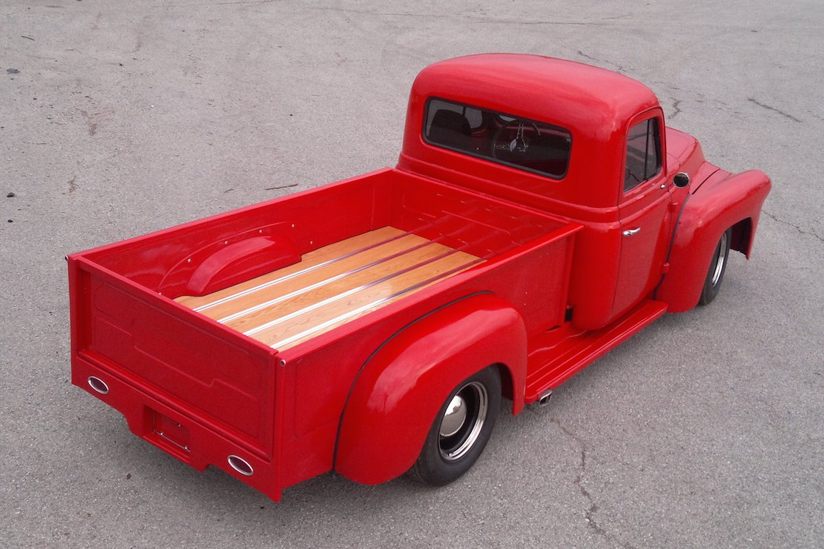 Why Choose Bed Wood When Replacing Your Truck 1954 Chevy Pickup Colors