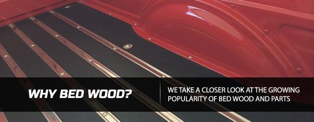 Red Oak 8 board kit FITS STEPSIDE 1961 Ford Pickup Truck Bed Wood