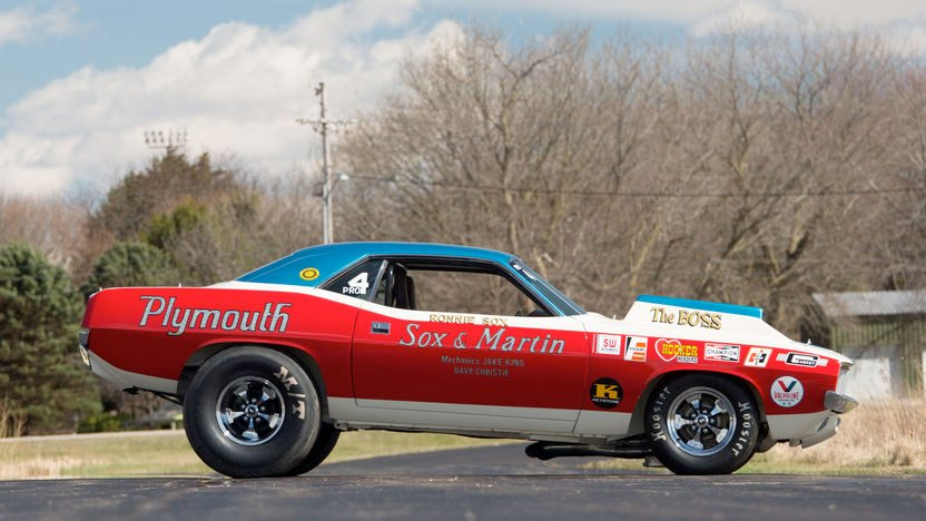 Sox Amp Martin 1971 Plymouth Hemi Cuda Heads To Auction