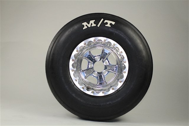 The Pro Drag Radial is intended for Stock Eliminator and Super Stock racing, coming in a wide range of tire sizes. Furthermore, these tires utilize Mickey Thompson's R1 tire compound, instead of the R2 found on the ET Street Radial Pro tires.