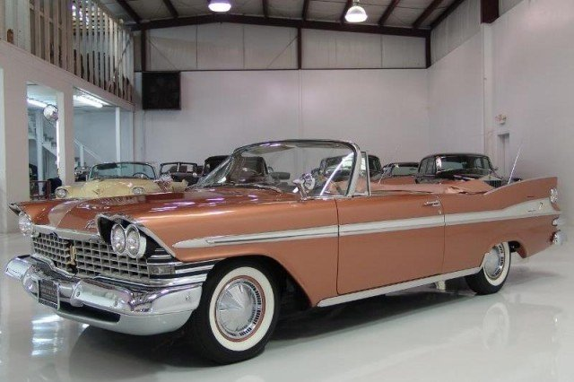 "Following the end of Ford's four season sponsorship, a 1959 Plymouth Sport Fury convertible similar this this made its way onto the fifth, and final season, of ""Hazel."""