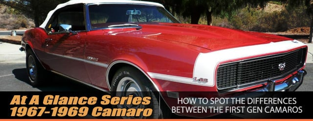 At A Glance: How To Spot Differences In First Gen Camaro