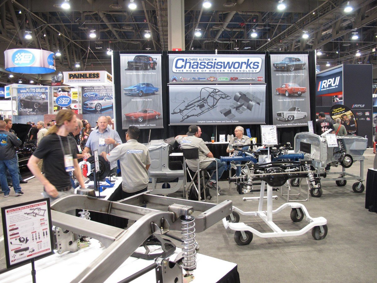 SEMA 2016: Truck And Musclecar Suspension Parts From Chassisworks