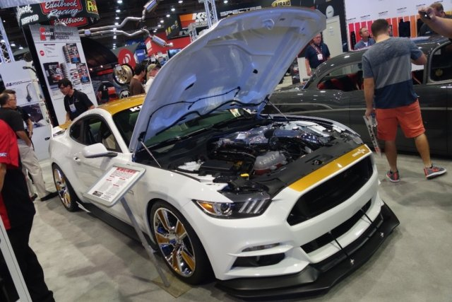 The 750-horsepower, 2017 Hurst-Kenne Bell Mustang made its official debut at The SEMA Show.