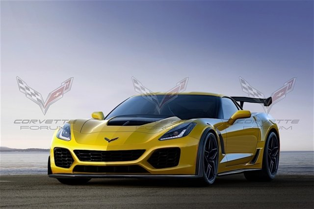 This render uses x-ray vision to aggregate all known ZR1 details into ...