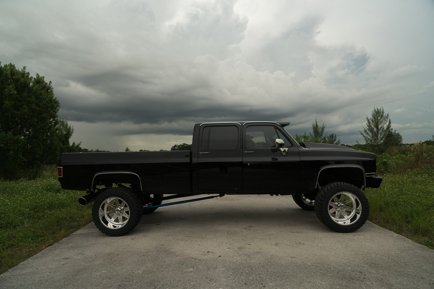 An Old School Chevy With New School Duramax Power