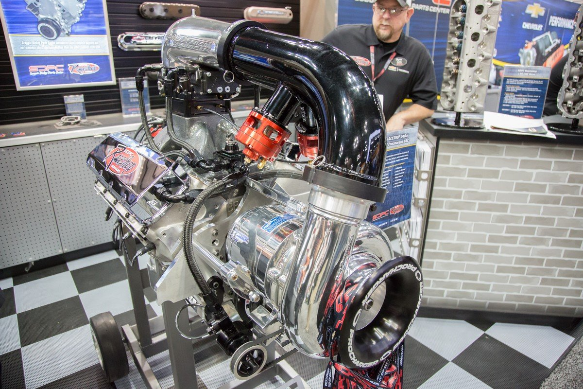 Making Power With SDPC's 540 C I  F-1X-12 Procharged BBC